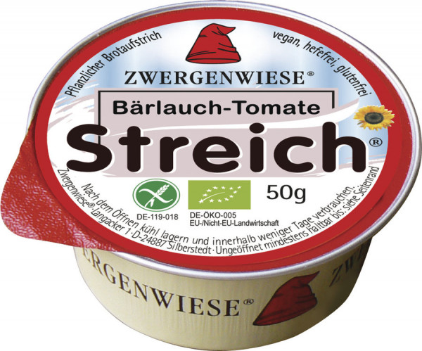 *Bio Kleiner Streich Bärlauch Tomate (50g) Zwergenwiese