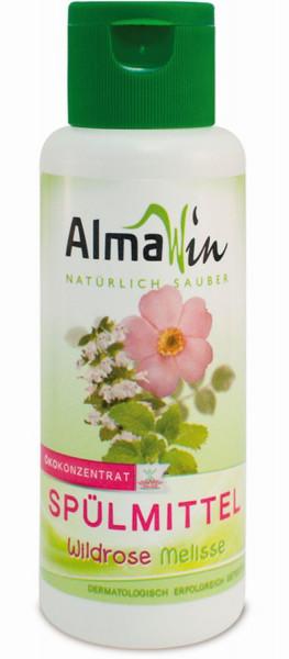 Spülmittel Wildrose Melisse (0,1l) AlmaWin