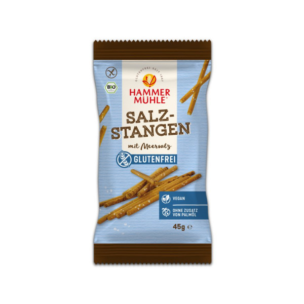 *Bio Bio Salzstangen mit Meersalz gf (45g) Hammermühle