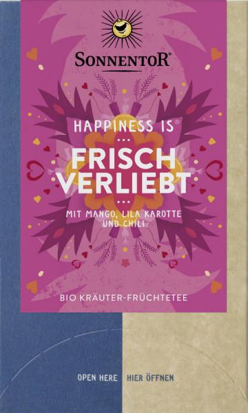 *Bio Frisch verliebt Tee Happiness is®, Doppelkammerbeutel (36g) Sonnentor