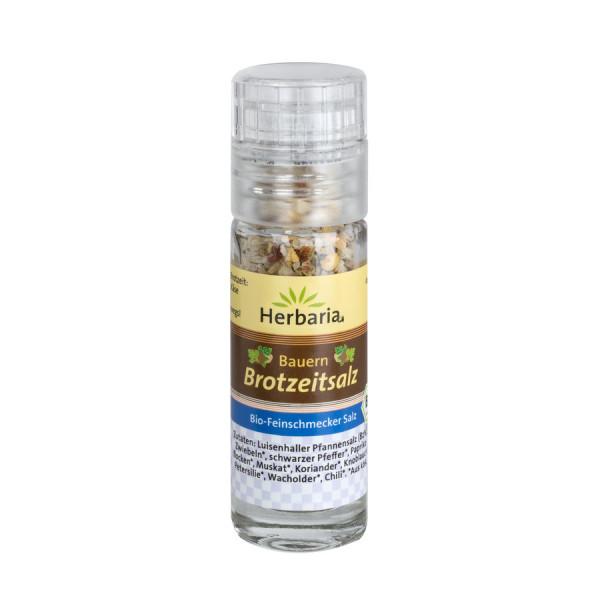 *Bio Bauern Brotzeitsalz bio Mini-Mühle (19g) HERBARIA