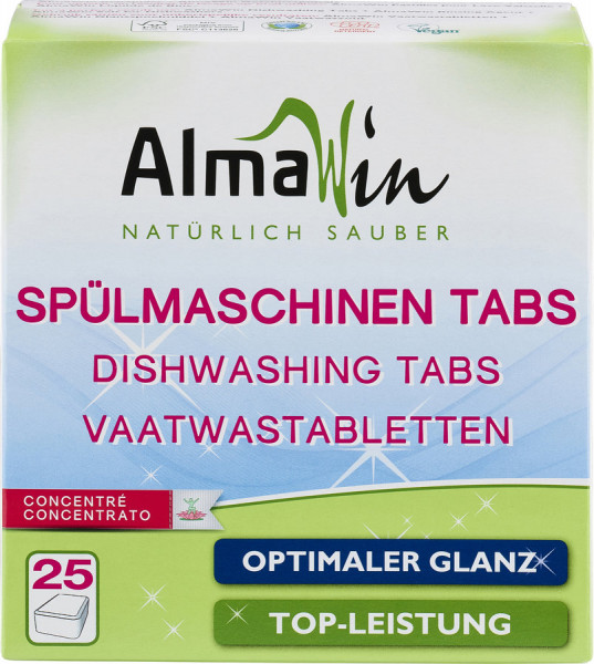 Spülmaschinen-Tabs (25St) AlmaWin