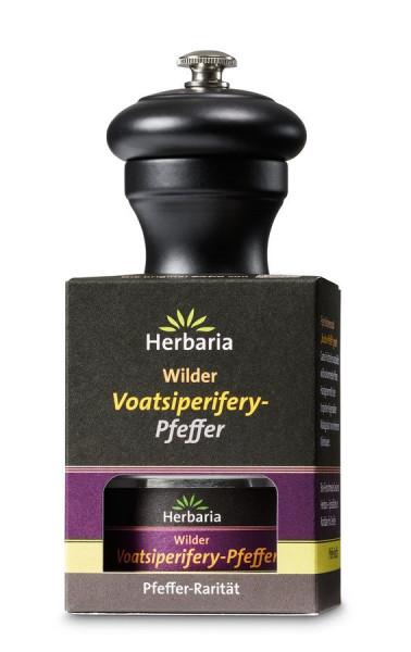 *Bio Set Voatsiperifery Pfeffer 25g mit Peugeot-Mühle (1St) HERBARIA