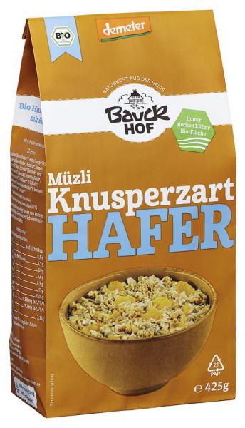 *Bio Hafer Müzli Knusperzart Demeter (425g) Bauckhof