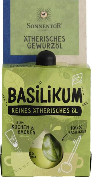 *Bio Basilikum ätherisches Gewürzöl (4,5ml) Sonnentor