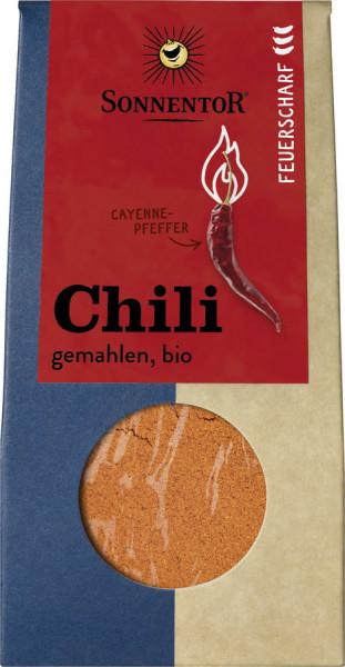 *Bio Chili feuerscharf gemahlen, Packung (40g) Sonnentor