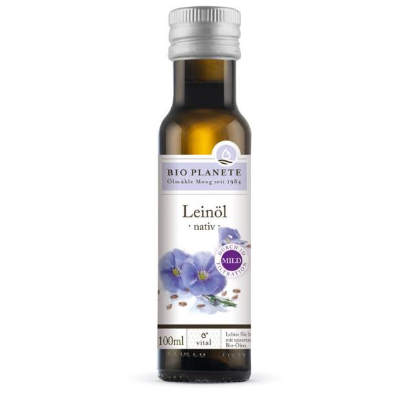 *Bio Leinöl nativ (3D-Filtration) (0,1l) BIO PLANÈTE