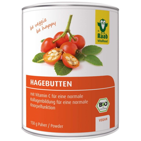 *Bio BIO Hagebutten Pulver (150g) Raab Vitalfood