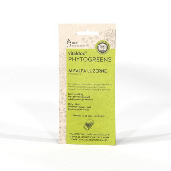 *Bio Alfalfa - 65g - vitaldoc® PHYTOGREENS