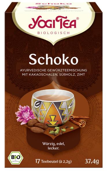 *Bio Yogi Tea® Schoko Bio (17x2,2g) Yogi Tea®, Yogi Tea GmbH