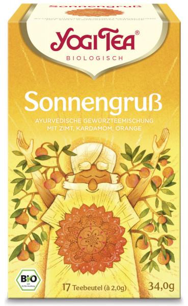 *Bio Yogi Tea® Sonnengruß Bio (17x2,0g) Yogi Tea®, Yogi Tea GmbH
