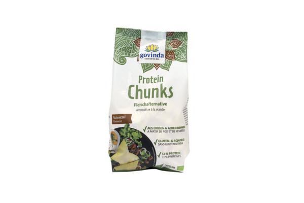 *Bio Bio Protein Chunks, Schnetzel (125g) Govinda