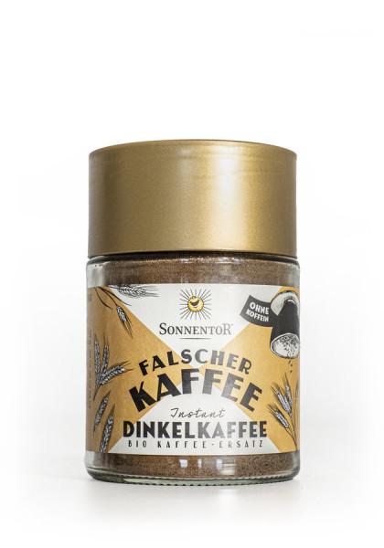 *Bio Dinkelkaffee Falscher Kaffee Instant, Glas (50g) Sonnentor