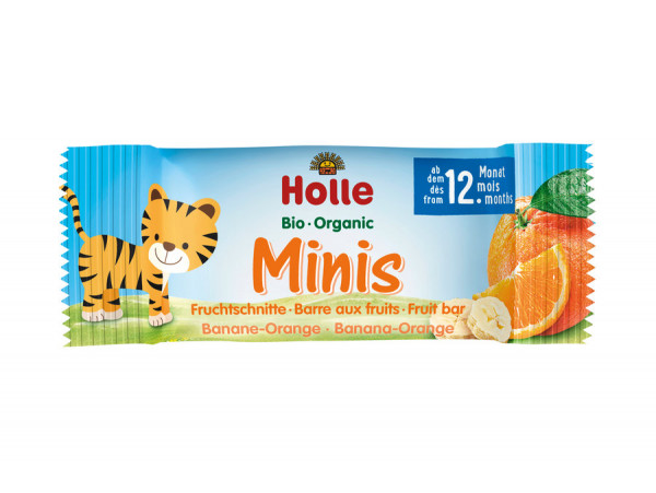 *Bio Bio-Minis Banane Orange (100g) Holle