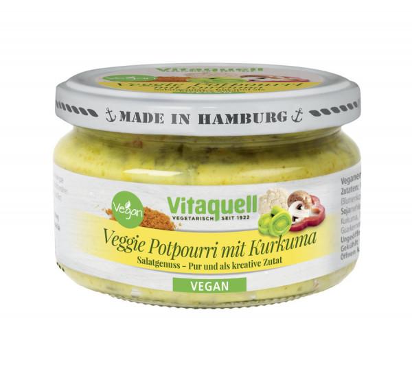 Veggie-Potpourri mit Kurkuma, vegan, 180 g (180g) Vitaquell