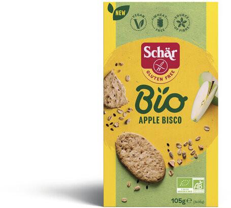 *Bio Bio Apple Bisco (105g) Schär