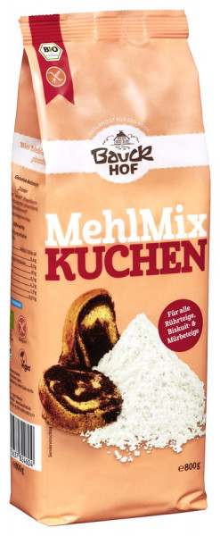*Bio Mehl-Mix Kuchen glutenfrei Bio (800g) Bauckhof