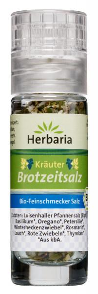 *Bio Kräuter Brotzeitsalz bio Mini-Mühle (13g) HERBARIA
