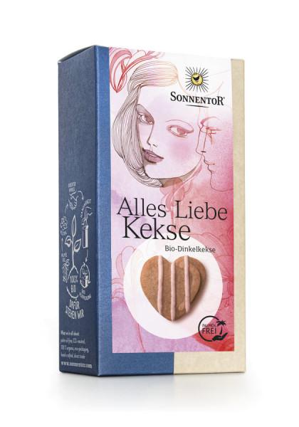 *Bio Alles Liebe Kekse, Packung (125g) Sonnentor