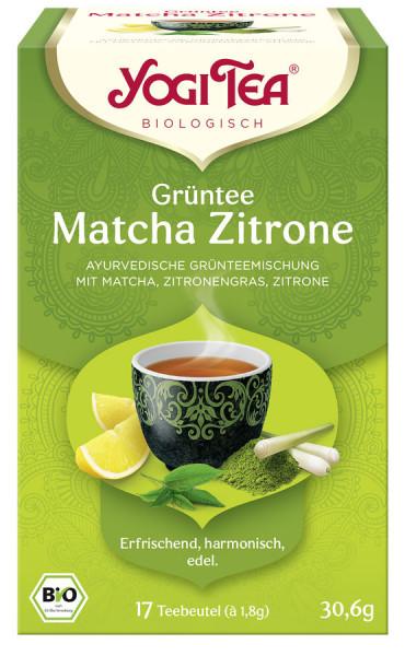 *Bio Yogi Tea® Grüntee Matcha Zitrone Bio (17x1,8g) Yogi Tea®, Yogi Tea GmbH