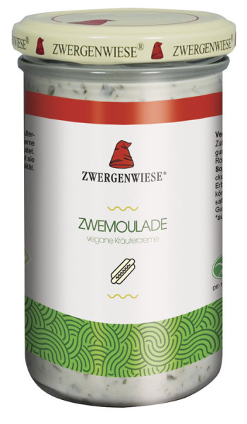 *Bio Zwemoulade Glas (230ml) Zwergenwiese