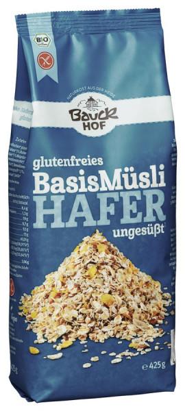 *Bio Hafermüsli Basis Bio glutenfrei (425g) Bauckhof