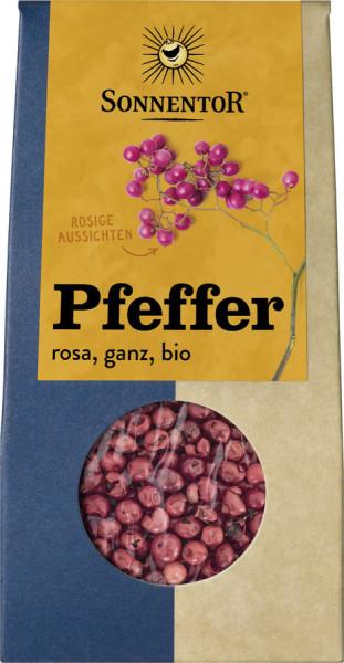 *Bio Pfeffer rosa ganz, Packung (20g) Sonnentor