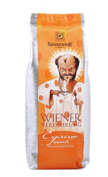 *Bio Espresso Kaffee gemahlen Wiener Verführung®, Packung (500g) Sonnentor