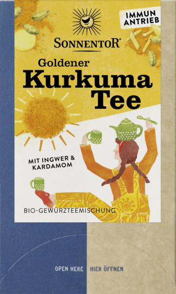 *Bio Goldener Kurkuma Tee, Doppelkammerbeutel (36g) Sonnentor