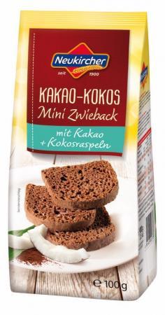 Neukircher Kakao-Kokos Mini Zwieback - 100g