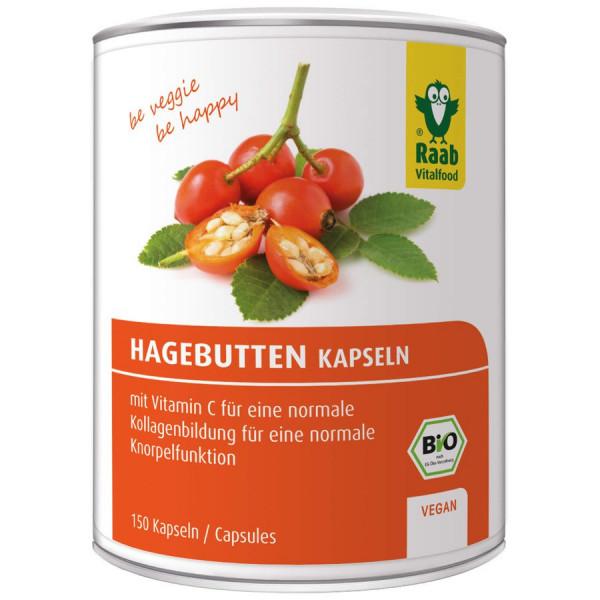 *Bio Bio Hagebuttenkapseln (129g) Raab Vitalfood