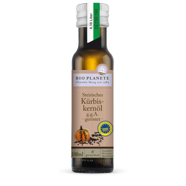 *Bio Steirisches Kürbiskernöl g.g.A. geröstet (0,1l) BIO PLANÈTE
