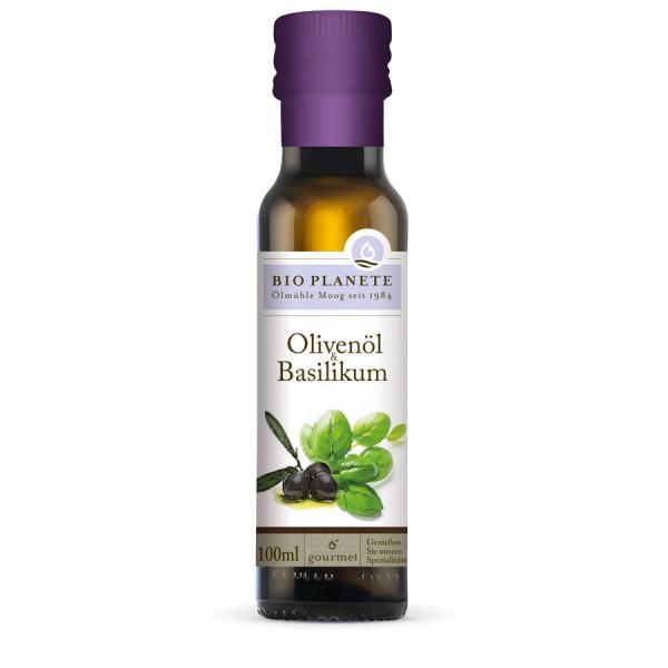 *Bio Olivenöl & Basilikum (100ml) BIO PLANÈTE