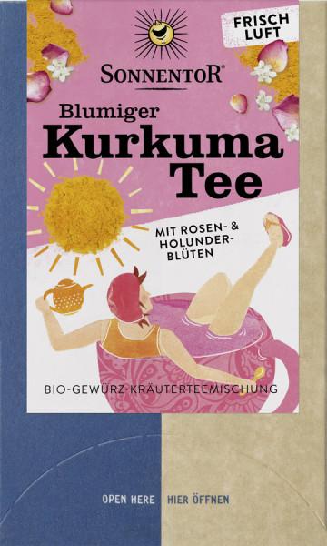 *Bio Blumiger Kurkuma Tee, Doppelkammerbeutel (36g) Sonnentor