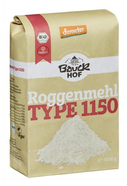 *Bio Roggenmehl Type 1150 Demeter (1000g) Bauckhof