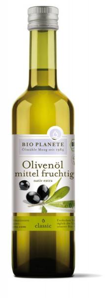*Bio Olivenöl mittel fruchtig nativ extra (0,5l) BIO PLANÈTE