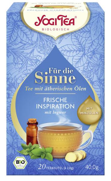 *Bio Yogi Tea® Für die Sinne Frische Inspiration (ehem. Pure Erfrischung) (20x2,0g) Yogi Tea® , Yogi
