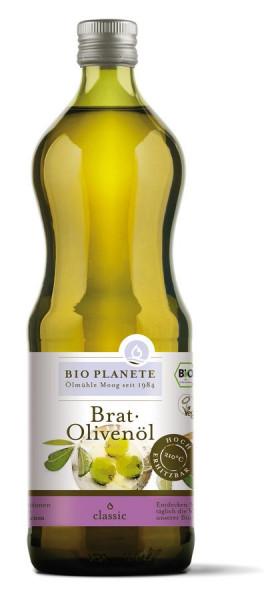 *Bio Brat-Olivenöl (1l) BIO PLANÈTE