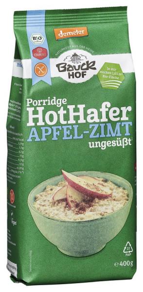 *Bio Hot Hafer Apfel-Zimt glutenfrei Demeter (400g) Bauckhof