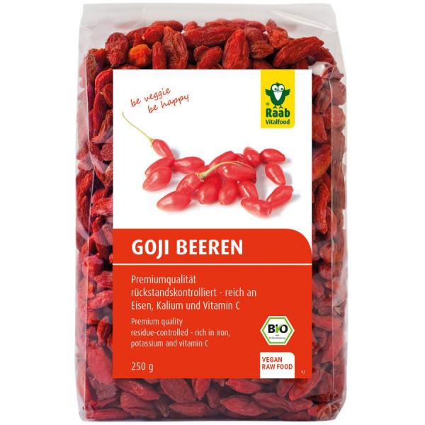 *Bio Bio Goji Beeren (250g) Raab Vitalfood