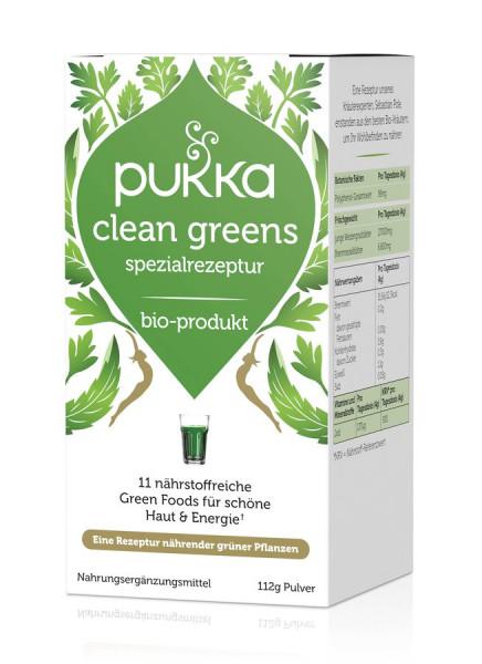 *Bio Clean Greens Pulver 112g Bio (112g) Pukka