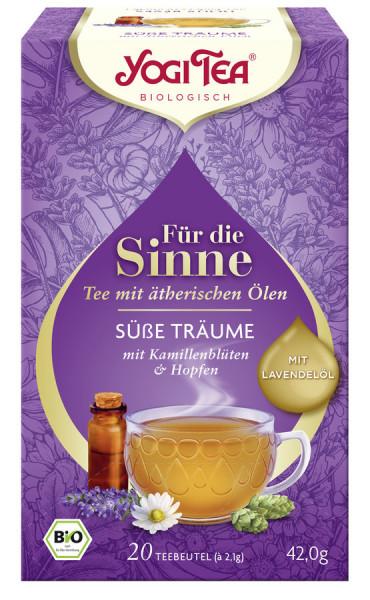 *Bio Yogi Tea® Für die Sinne Süße Träume Bio (20x2,1g) Yogi Tea® , Yogi Tea GmbH