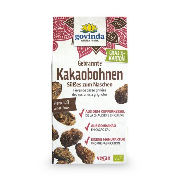 *Bio Gebrannte Kakaobohnen (100g) Govinda