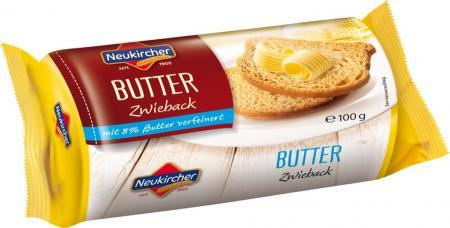 Neukircher Butter Zwieback - 100g