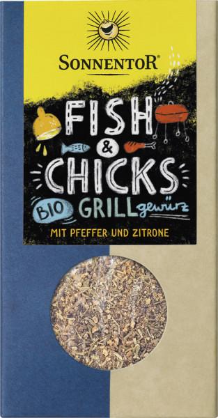*Bio Fish & Chicks Grillgewürz, Packung (55g) Sonnentor