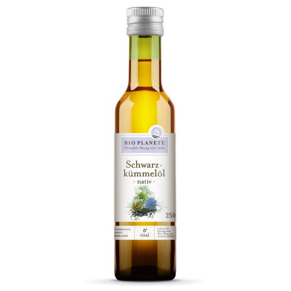 *Bio Schwarzkümmelöl nativ (250ml) BIO PLANÈTE