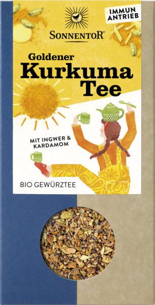 *Bio Goldener Kurkuma Tee lose (120g) Sonnentor