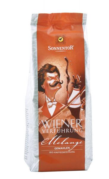 *Bio Melange Kaffee gemahlen Wiener Verführung®, Packung (500g) Sonnentor