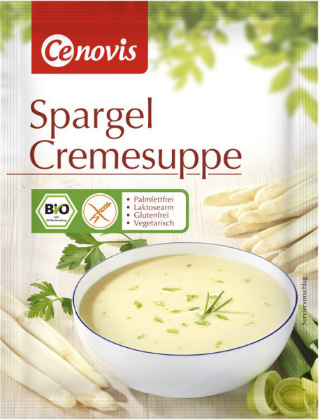 *Bio Spargel Cremesuppe, bio (60g) Cenovis