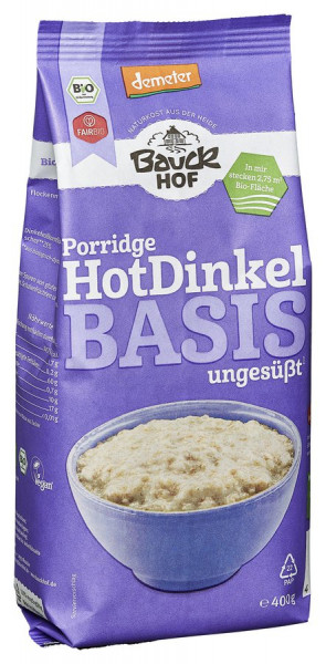 *Bio Hot Dinkel Basis Demeter (400g) Bauckhof